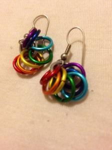 rainbowearrings
