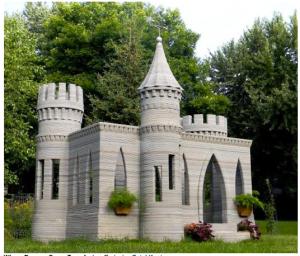 3D printed castle!